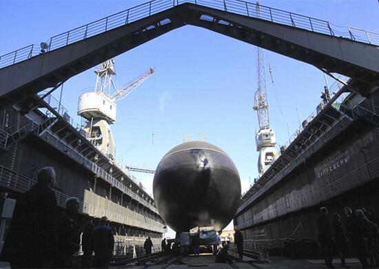 原料图:旧奥斯科尔号潜艇
