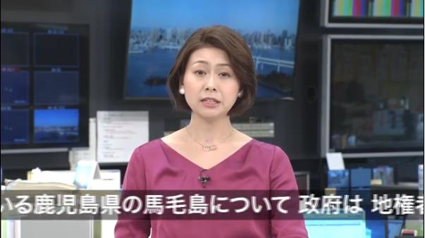 相关电视直播画面(富士电视台)