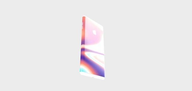 """""""环绕屏""""iPhone 12渲染(图:Behance)"""