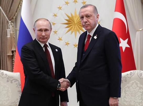 土耳其总统埃尔多安今赴莫斯科与俄总统普京讨论S-400问题 资料图 (图源:《消息报》)