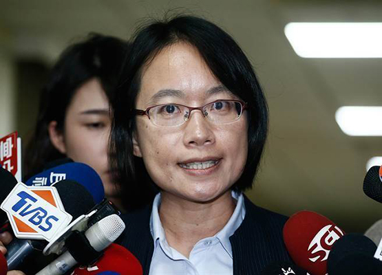 """前北农总经理吴音宁(图片来源:台湾""""中时电子报"""")"""