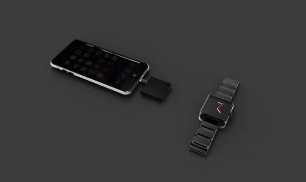 一款可实现为智能手机进行充电的智能手表