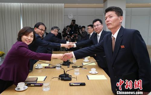韩媒:韩朝联办主任开会讨论合作 回顾今年成果