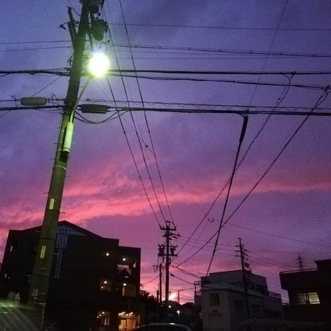 也有網友覺得這樣的天空很漂亮(Twitter)