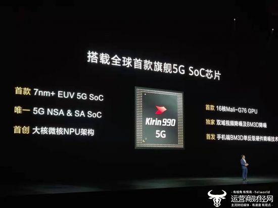 華為Mate30 5G系列支持5G SA/NSA...