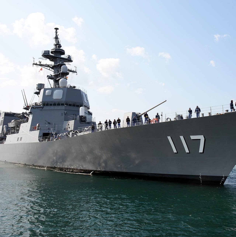 日本 自卫队阅兵_航母护卫?参加青岛阅兵的日本军舰到底什么来头|秋月|日本军舰 ...