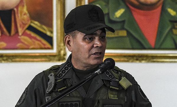 委内瑞拉国防部长说不会屈服于美国制裁