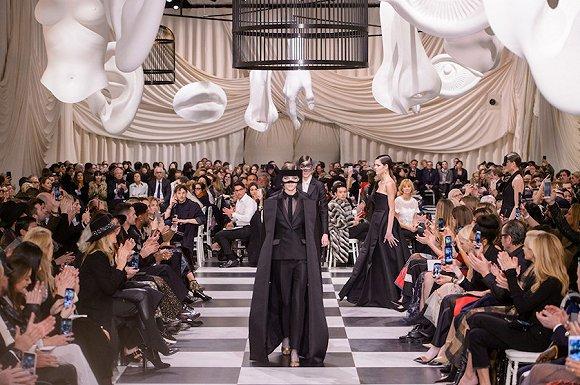 Dior 2018 早春系列 来源:Fashionista
