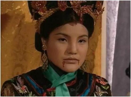 馬蹄露在《鹿鼎記》中飾演毛東珠