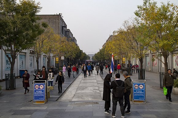 前门大街 图片来源:视觉中国
