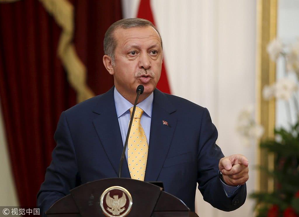 土耳其总统「埃尔多安 图源:视觉中国