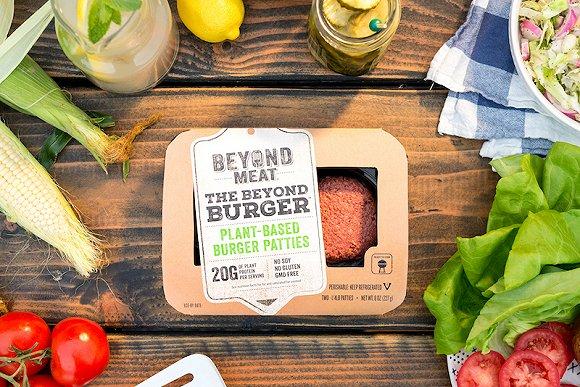 Beyond Meat推出的汉堡肉产品