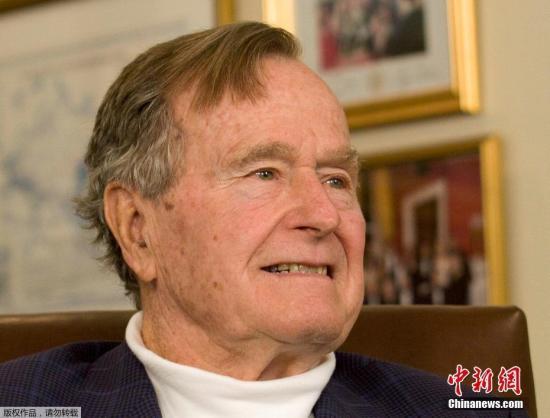 美国第41任总统布什死 享年94岁(原料图)