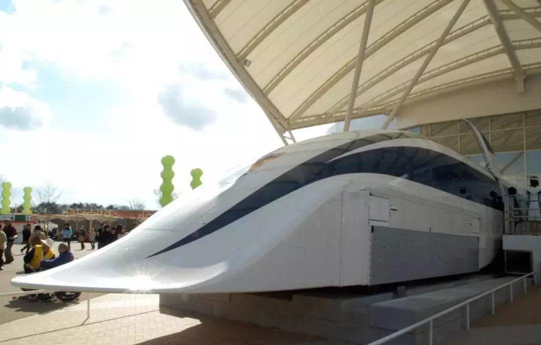 日本JR东海磁浮列车馆曾展出的列车