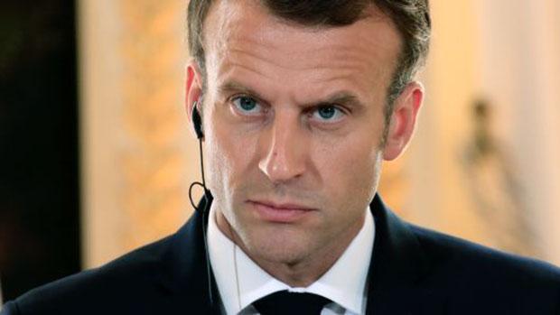 法国总统马克龙 图自法新社
