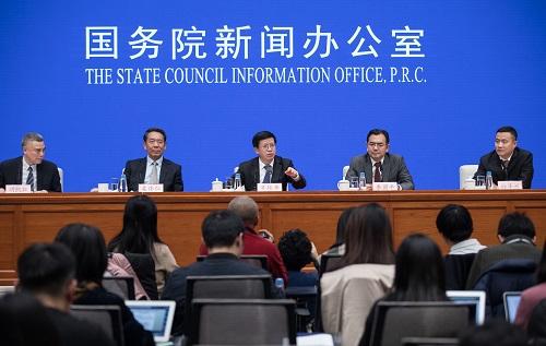 1月14日,国新办举行探月工程嫦娥四号任务有关情况新闻发布会。新华社记者 金立旺 摄