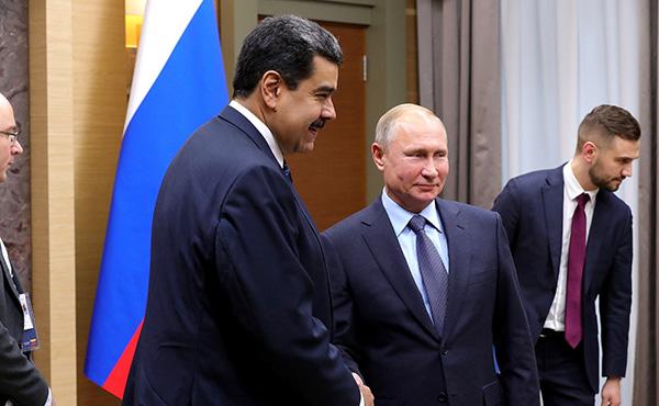 """俄签下投资委内瑞拉50亿美元""""石油和黄金""""大单"""