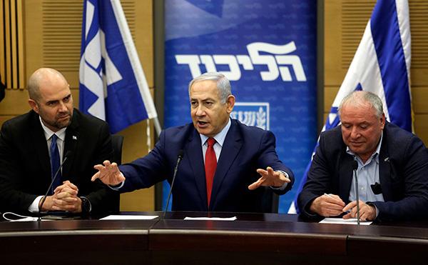 以色列将于明年4月挑前举走议会选举。视觉中国 图