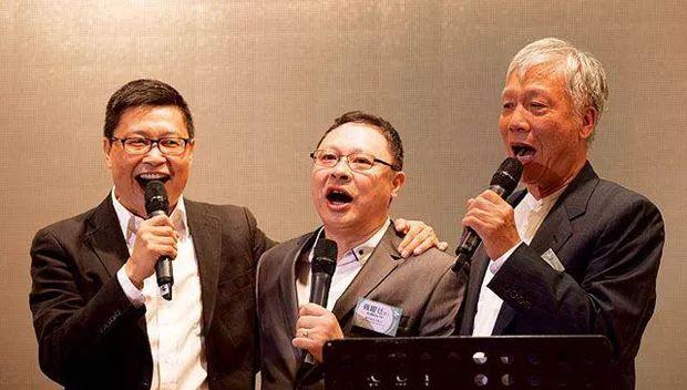 左起:�健民、戴耀廷、朱耀明 �D自港媒