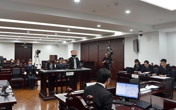 庭审现场 本文图均为 普陀区检察院 供图