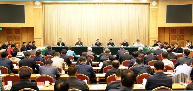 △10月12日,全国扫黑除恶专项斗争领导小组召开第三次会议