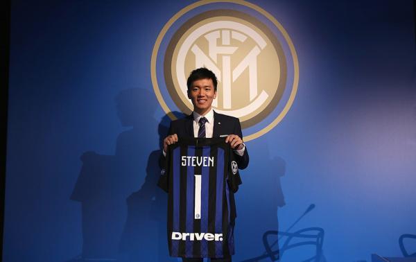 10月26日,张康阳正式出任国际米兰俱乐部主席。 视觉中国 图