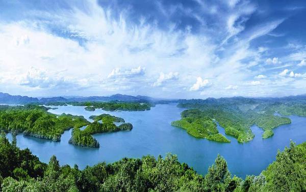 仙女湖风光。 仙女湖风景名胜区管委会官网 图