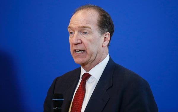 戴维·马尔帕斯成为下届世行行长唯一提名人选