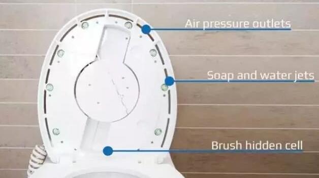 洁厕机器人
