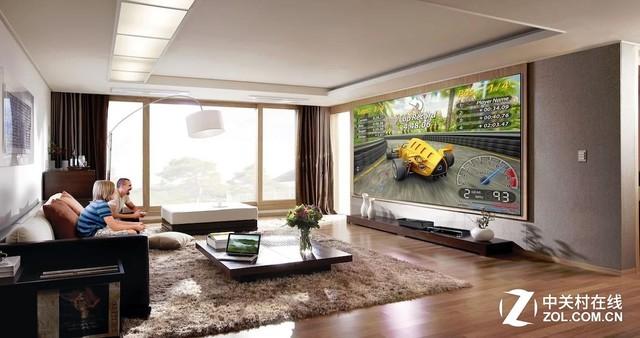 虽然成长迅速,但激光电视目前还是一个小众的市场