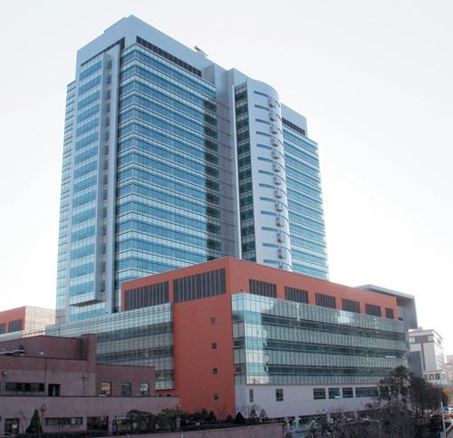 樸槿惠做手術的首爾圣母醫院