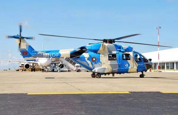 ▲印度声援的直升机
