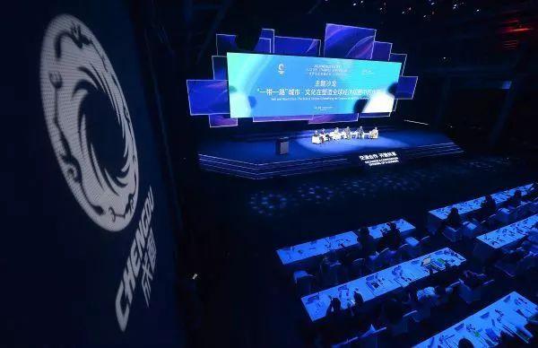 """▲6月20日至22日,""""2018世界文化名城论坛·天府论坛""""在成都举走。"""