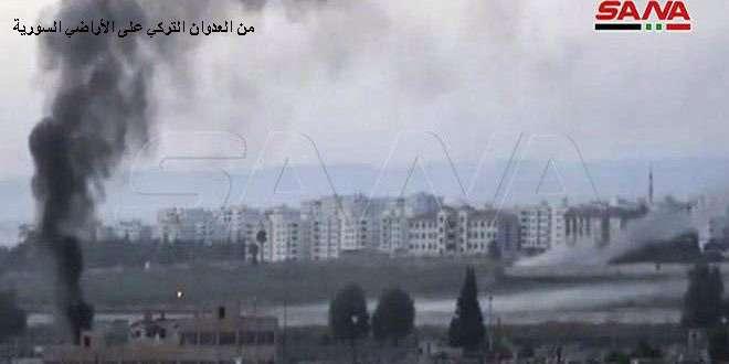 (图片来自于叙利亚国家通讯社)