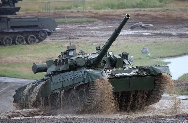 ▲资料图片:俄军T-90主战坦克