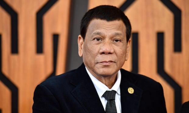 菲律宾总统杜特尔特(图:《卫报》)