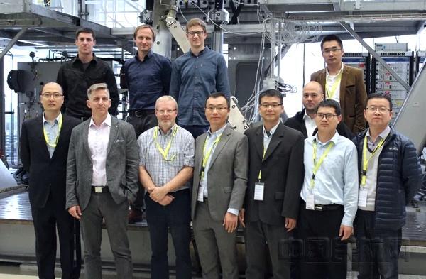 上海审定中心审查组赴德国利勃海尔公司完成对C919飞机前起落架和主起落架极限载荷静力试验的目击审查