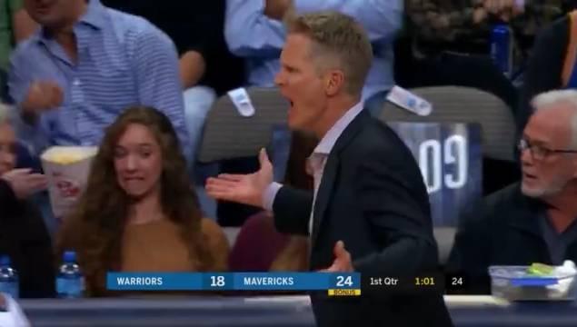 無Curry球隊戰績2勝4負,近3場三分僅77中18!Kerr急得快成吃T王