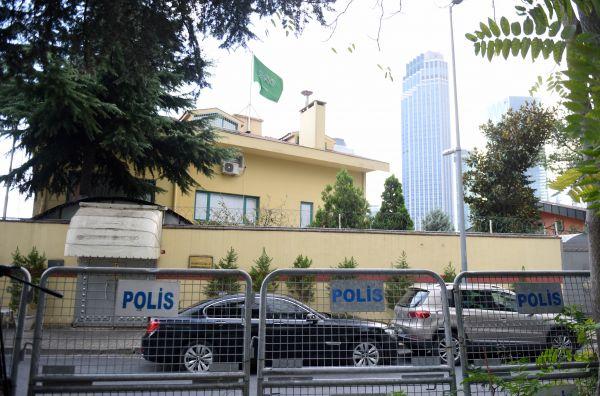 这是10月10日在土耳其伊斯坦布尔拍摄的沙特驻伊斯坦布尔领事馆。新华社记者贺灿铃摄