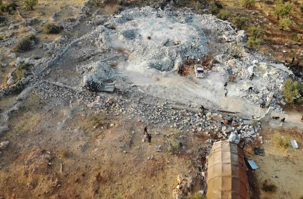 巴格达迪死亡地点(图源:法新社/GETTY)