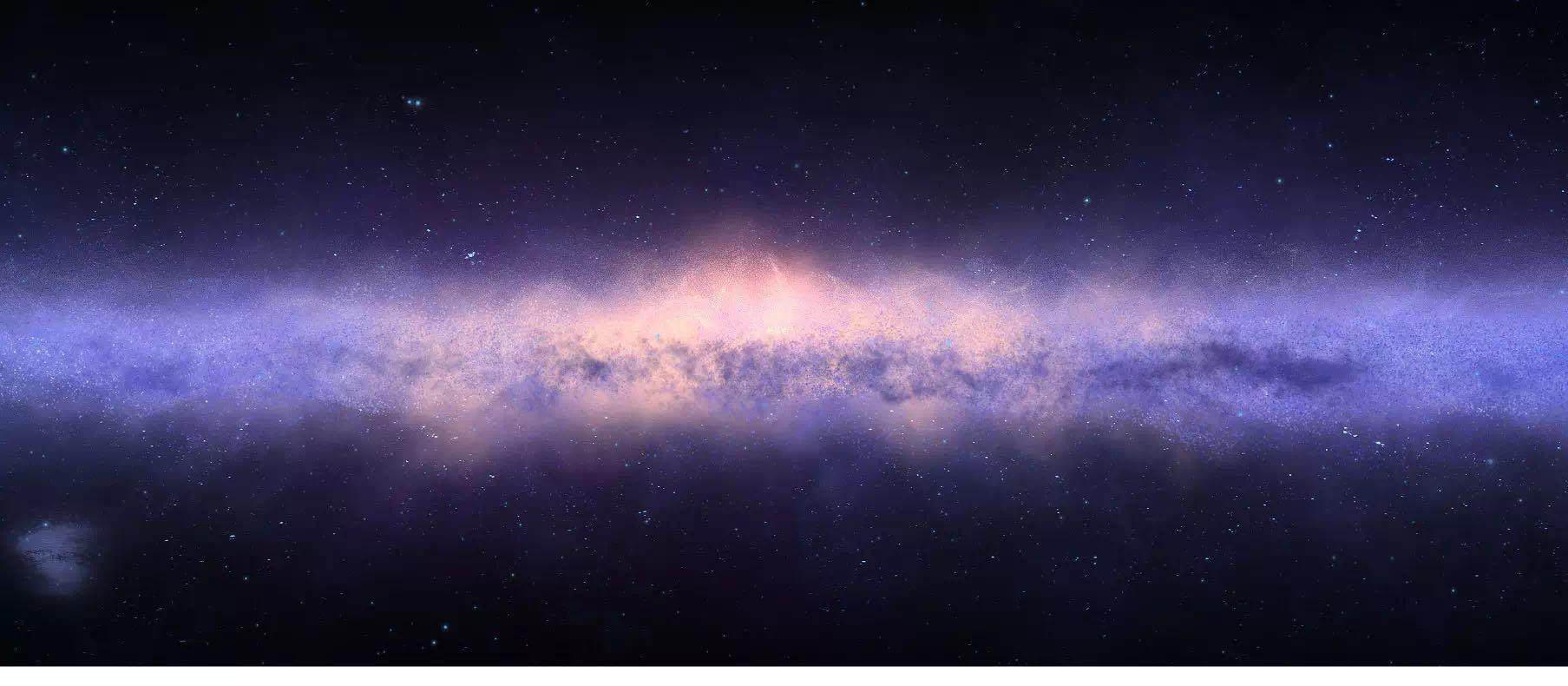 △包含20萬顆星星的南半球星空圖(SKA射電望遠鏡拍攝)