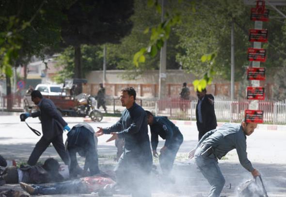 阿富汗首都爆炸致至少21死 法新社一攝影記者喪