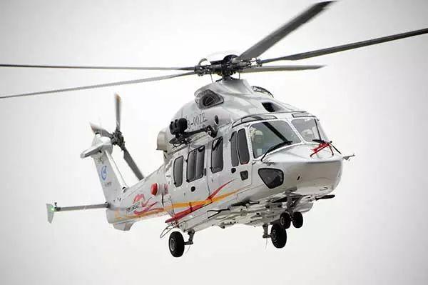 ▲中航工业AC352直升机