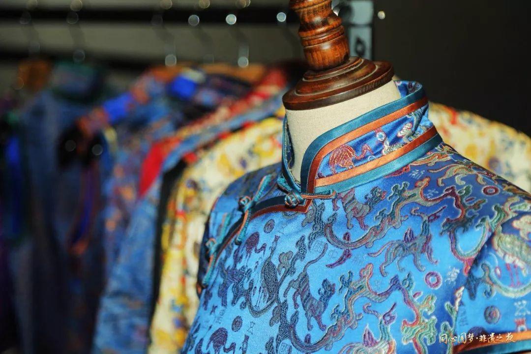 沒有文化的服飾是沒有生命的服飾,蜀錦文化就是服飾的魂.圖片