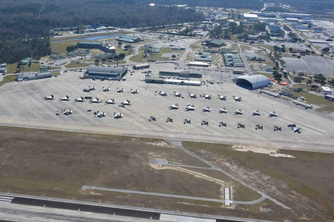 萨凡纳-希尔顿黑德机场的美军基地