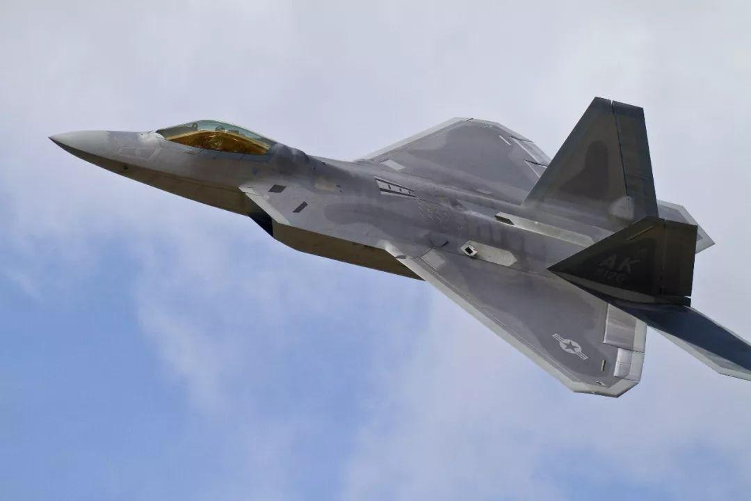▲美空军F-22隐身战机(视觉中国)