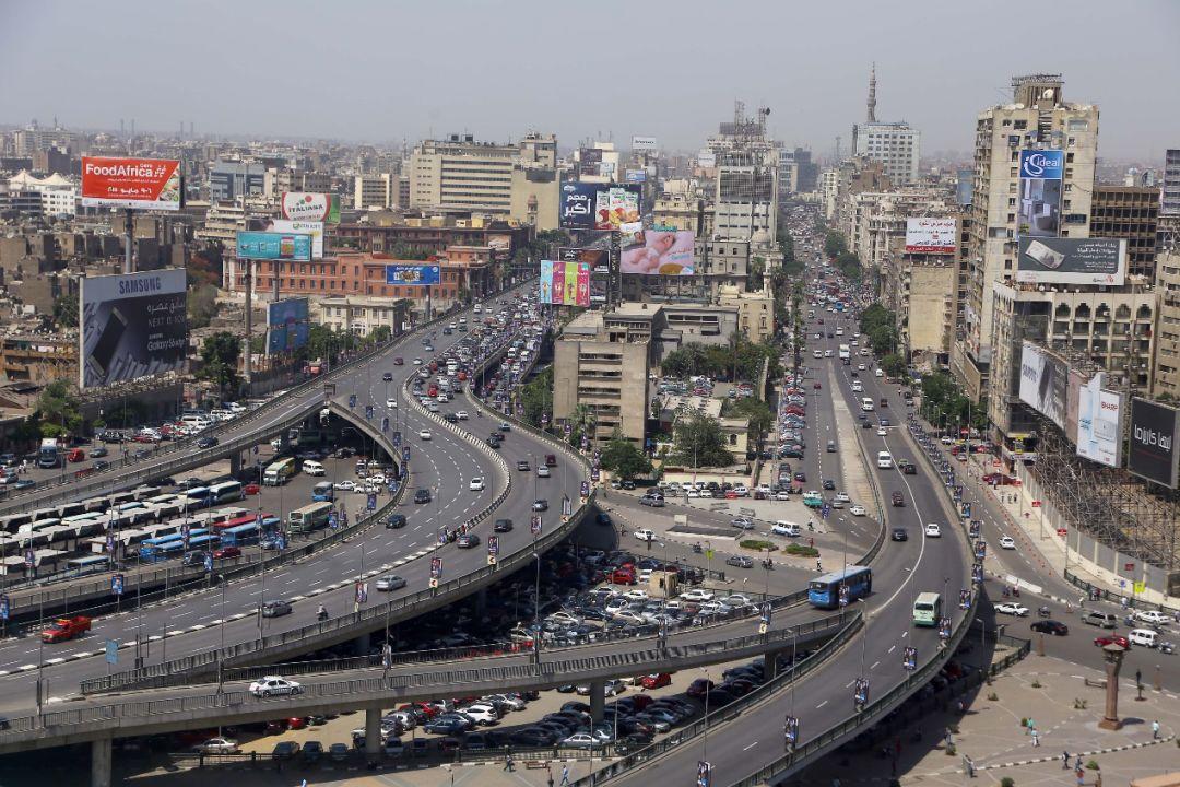 图为2015年拍摄的埃及首都开罗。新华社发(艾哈迈德·戈马摄)