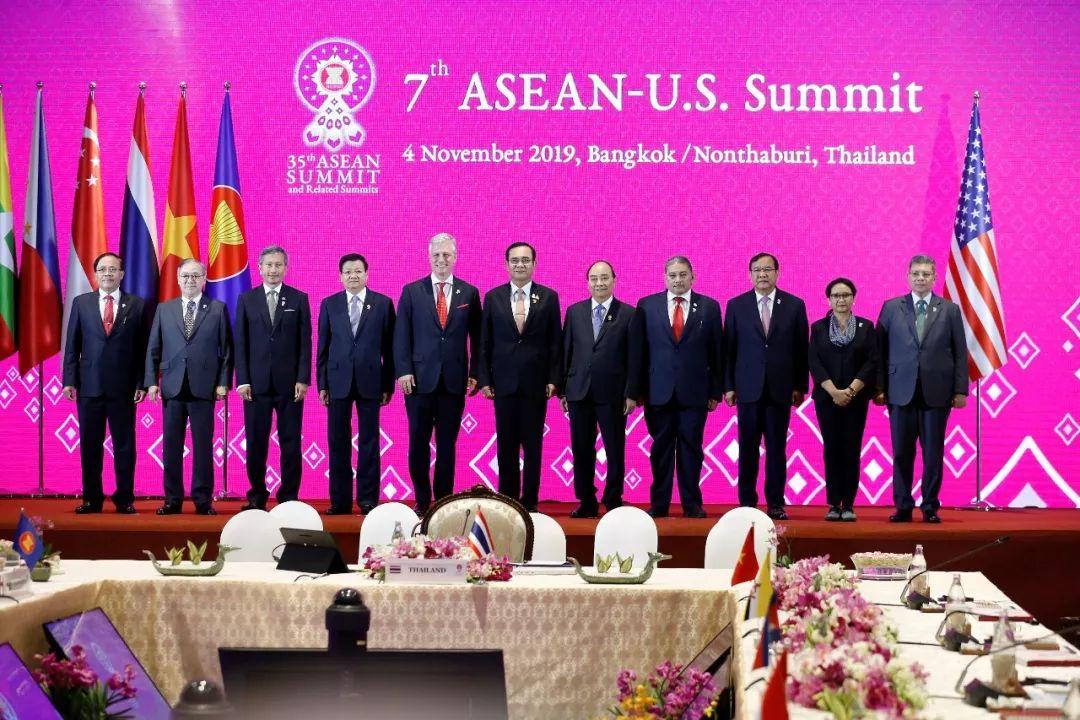 ▲当地时间2019年11月4日,泰国曼谷,第7届美国-东盟峰会举行。(视觉中国)