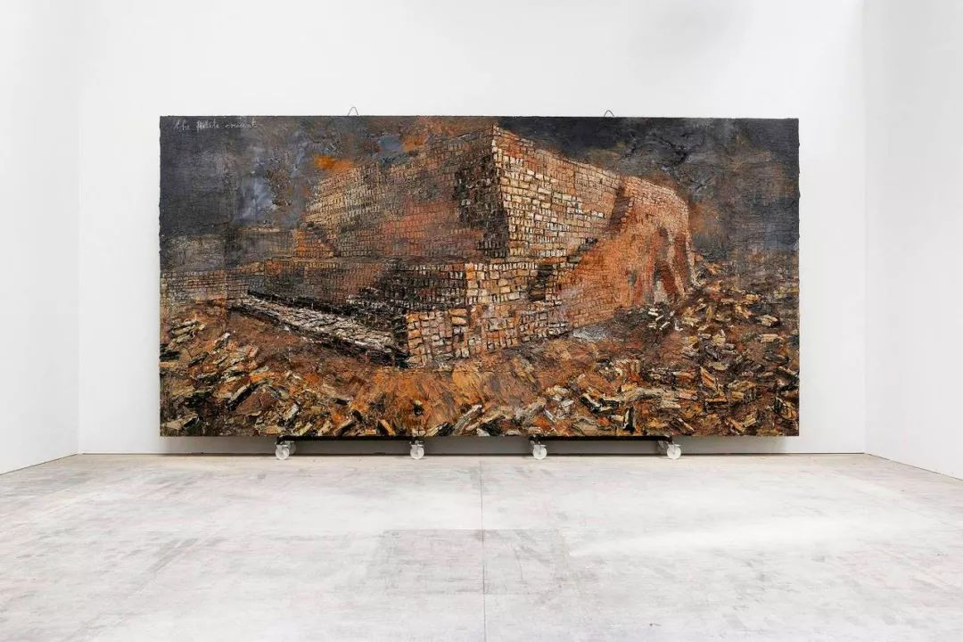 安塞姆·基弗的作品《新月沃土》
