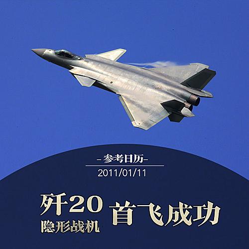 回首中国自己的第五代战机 歼-20让整个世界为之震撼